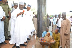 Fatima Wish, Governor Al-Makura Fulfills